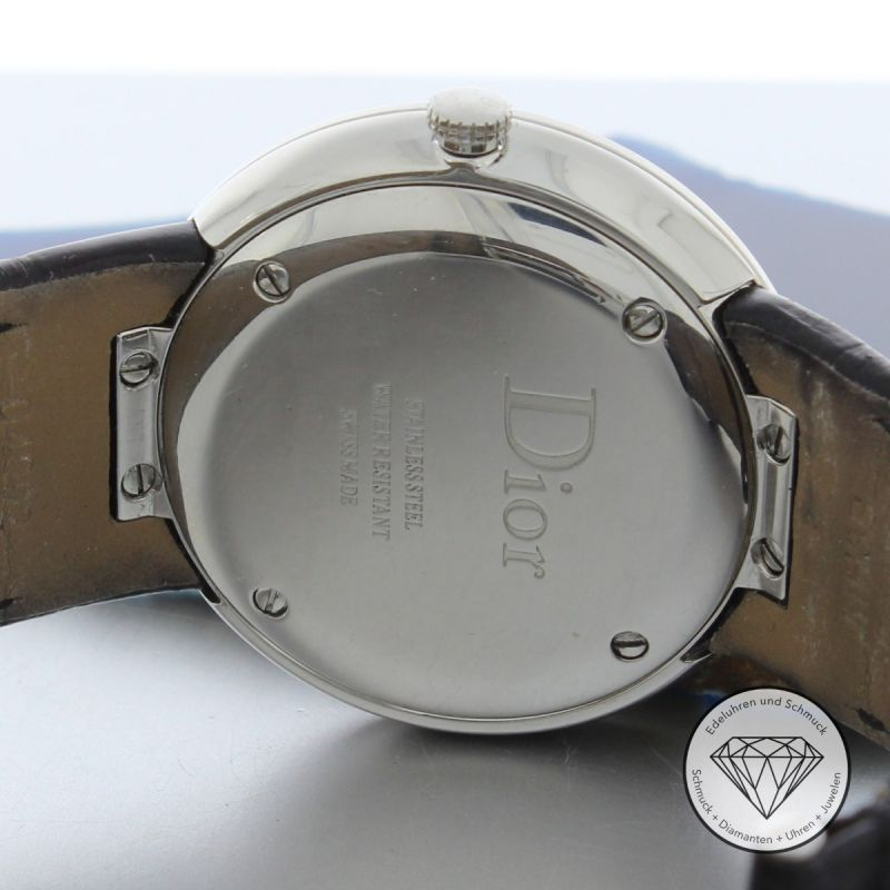 La D De Dior 38mm Damen Quarz