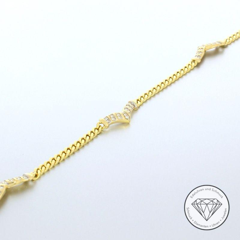 0,41 Carat Brillant Armband 21,0 cm