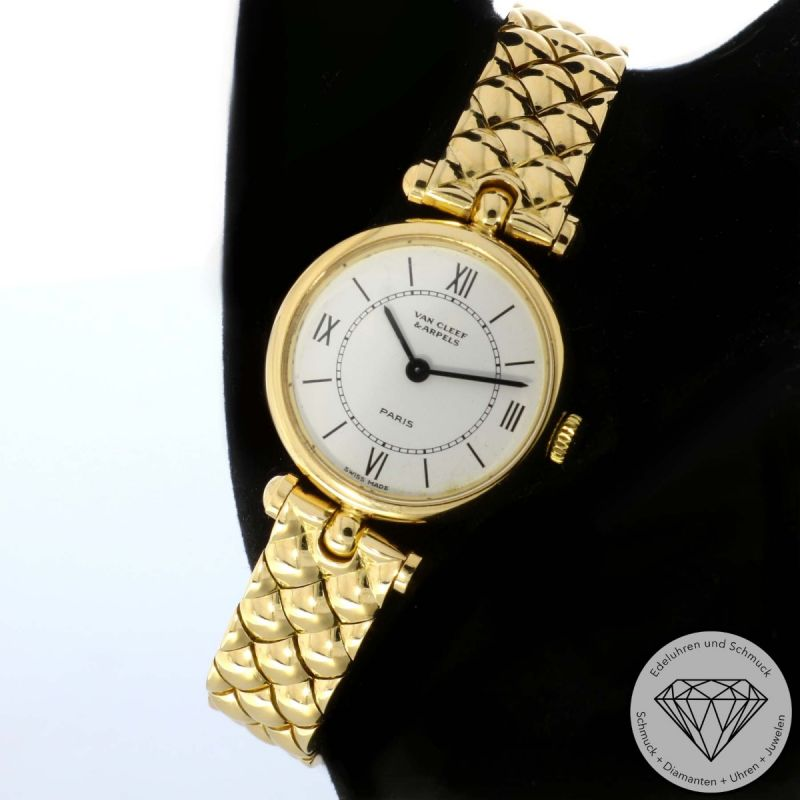Van Cleef & Arpels Classic La Collection Gold 21mm Quarz