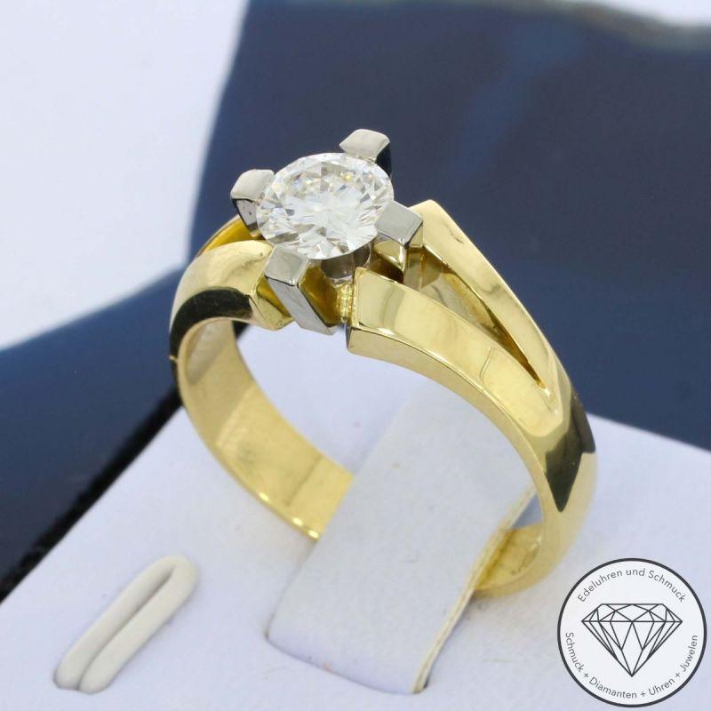 Solitär Brillant Ring 1,00 Carat VVS