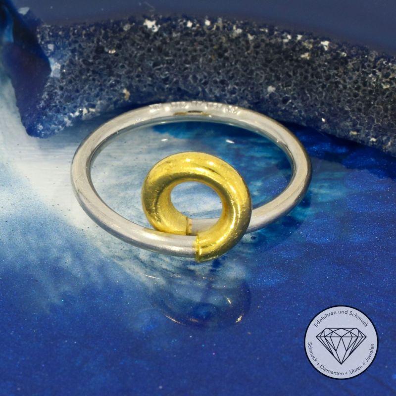 Platin Gold Ring
