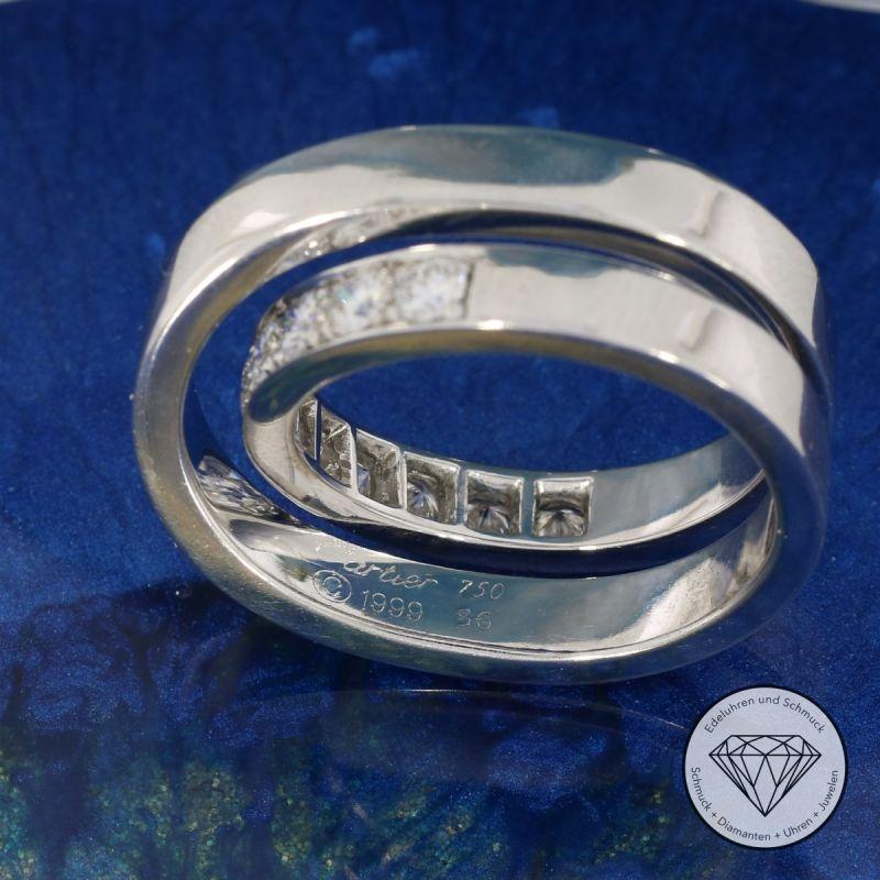 Cartier Paris Nouvelle Vague Brillant Ring 1,00 Carat Gr. 56