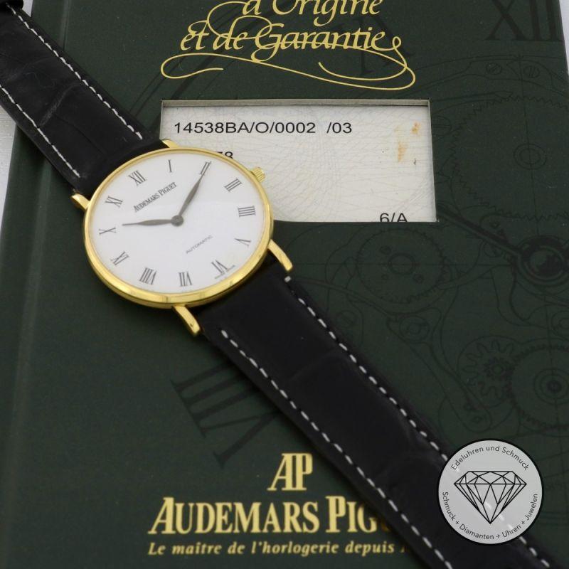 Audemars Piguet Ultra Thin Gold 33mm Automatik Fullset