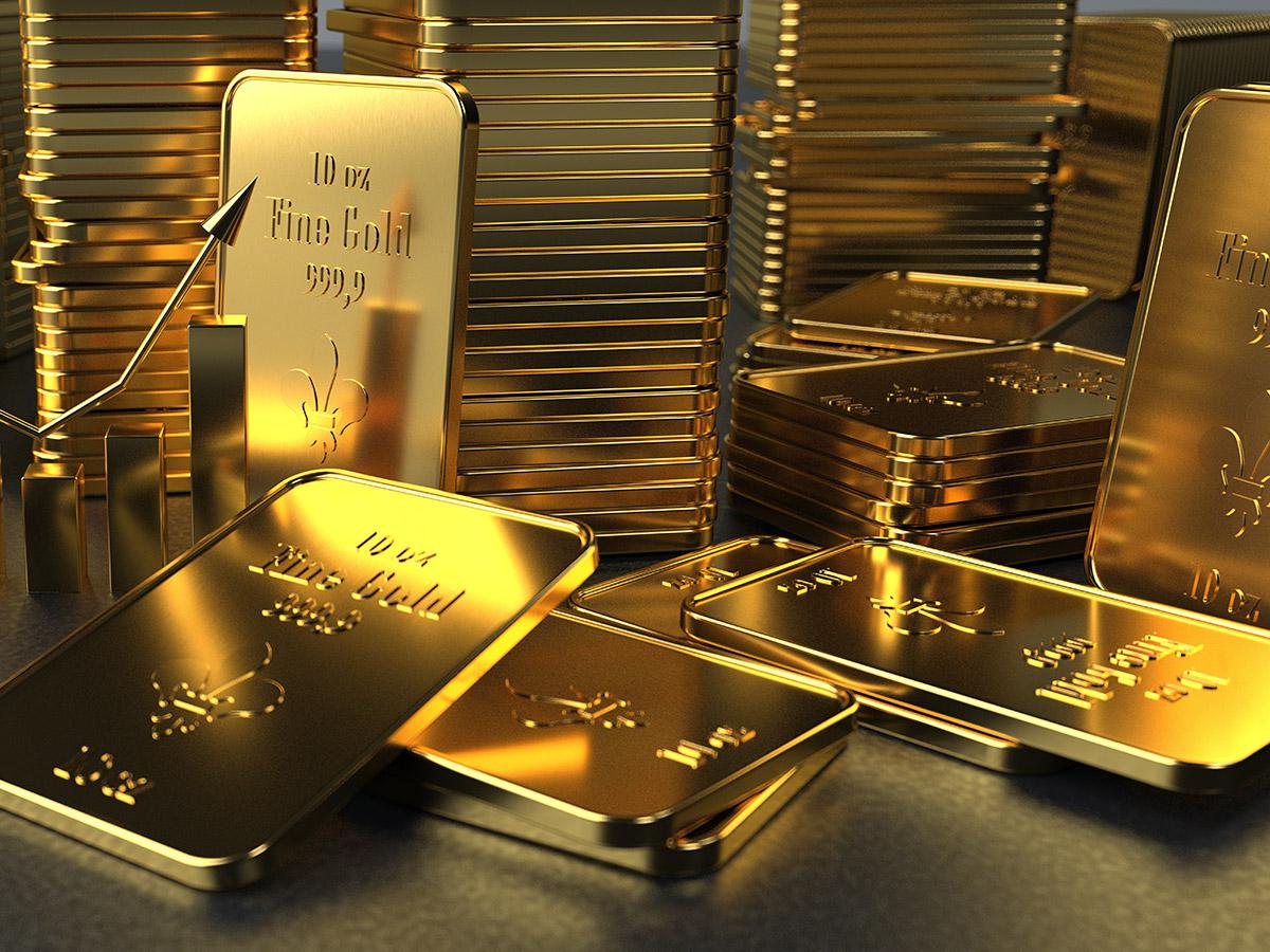 Goldbarren, das Anlageobjekt für eine sichere Zukunft