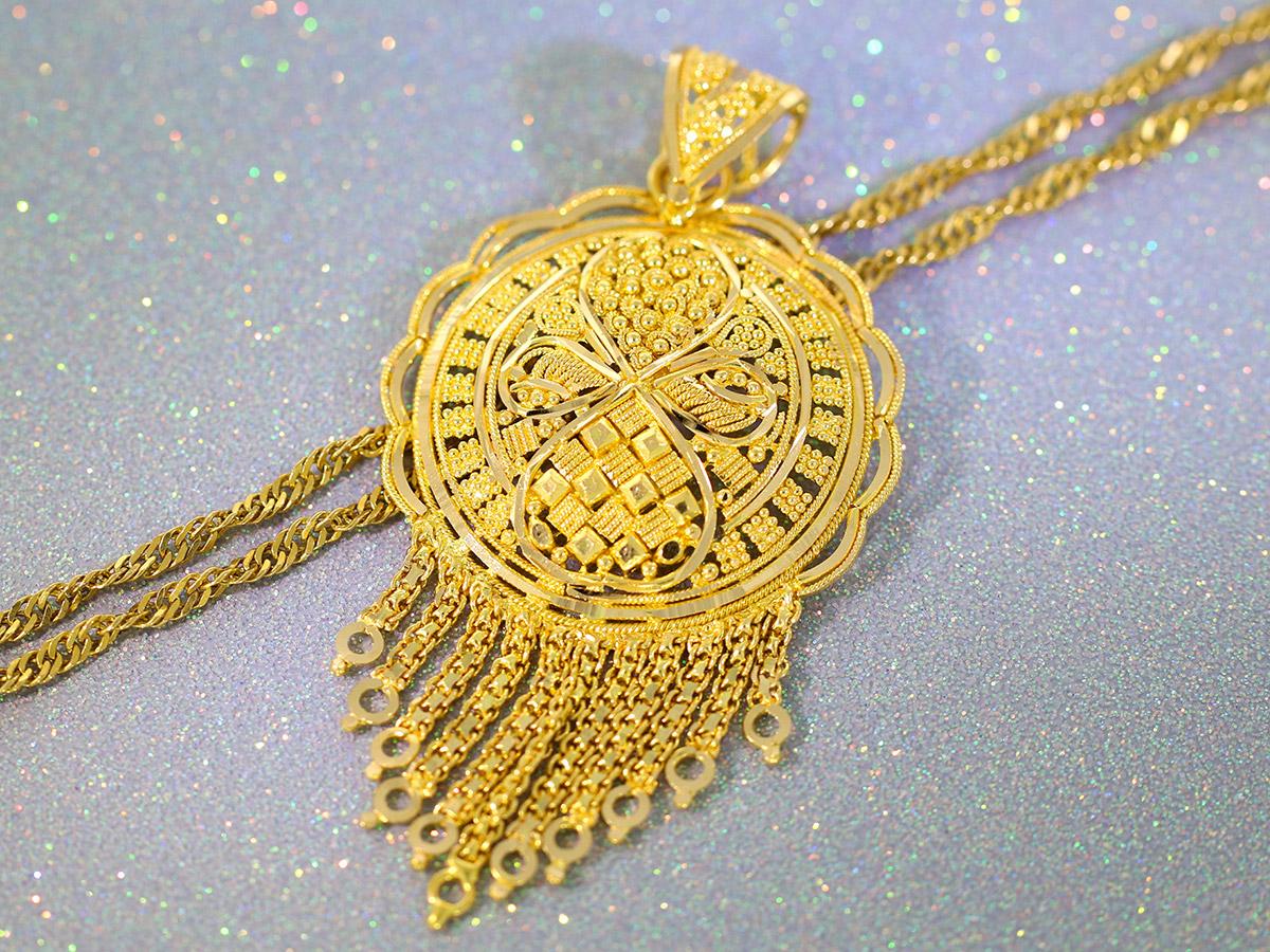 Schmucklegierung 916er / 22 Karat Gold