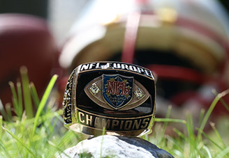 World Bowl Ring 2002 Berlin Thunder